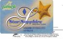 Caribbean Star—Star Sapphire