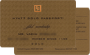 Hyatt — Gold Passport
