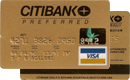 Visa Gold — CitiBank Preferred