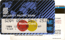 MasterCard — Security Pacific Bank